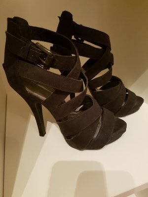 Pimkie Platform High-Heeled Sandal black