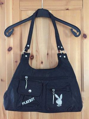 Schwarze Playboy Tasche