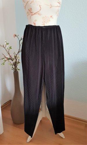 schwarze Plissee-Culottes, Culottes von Weekday