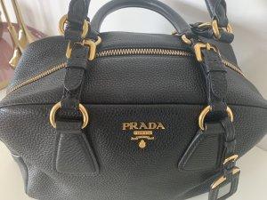 Schwarze PRADA Henkel Tasche