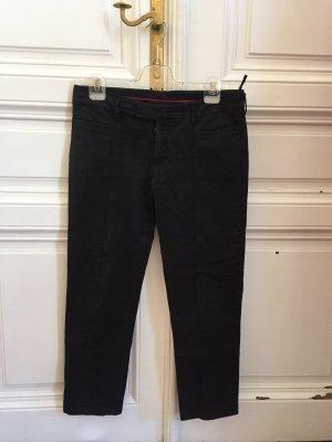 Prada 7/8 Length Trousers black cotton