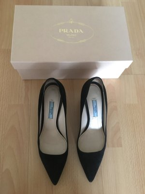 Schwarze prada Pumps in 37,5