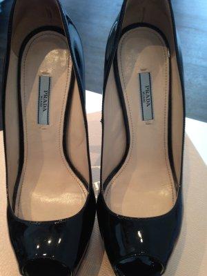 Schwarze PRADA Schuhe, nur 2 mal getragen