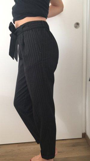Schwarze Pull& Bear  Paperbag-Hose