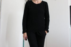 Schwarze Pullover in S
