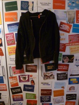 Schwarze Pulloverjacke von H&M, Pulli, Kapuzenpulli, Basic