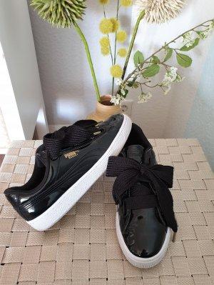 schwarze Puma Basket Sneaker