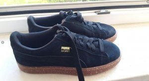 Schwarze Puma basket x careaux in 37,5