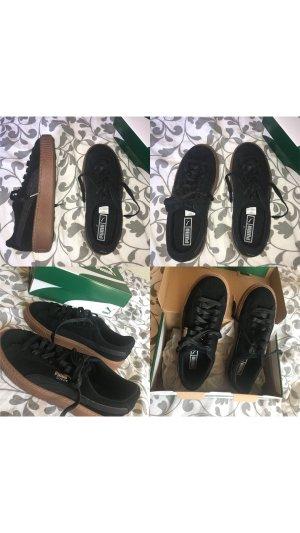 Schwarze Puma Schuhe