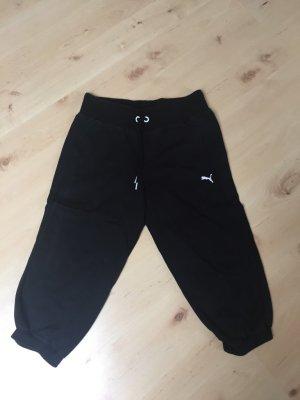 schwarze Puma Sporthose