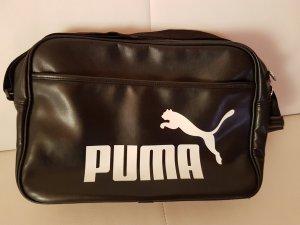 schwarze Puma Sporttasche 40 x 27 x 14 cm neu