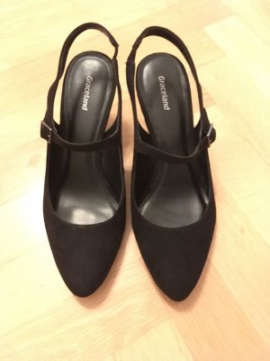 Graceland Slingback Pumps black
