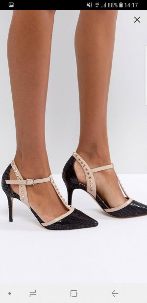 Asos Pointed Toe Pumps black