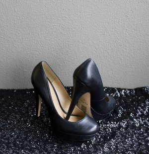 Schwarze Pumps / Basic / High Heels / Party / Hochzeit