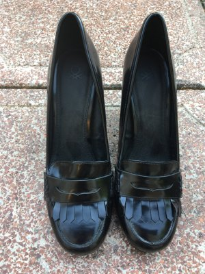 Benetton Tacones Mary Jane negro
