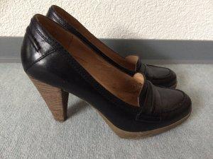 schwarze Pumps / Hohe Schuhe von 5th Avenue - Gr. 38
