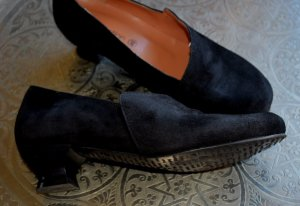 bpc selection Loafers zwart Leer
