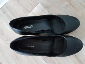 Ariane Décolleté con zeppa nero