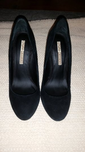 Schwarze  pumps nagelneuen Wildleder Buffelo original