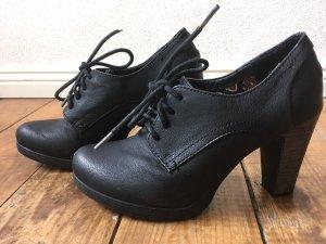 Anna Field Escarpins à lacets noir