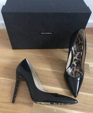 Schwarze Pumps von Dolce & Gabbana, neu, Größe 39