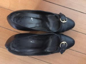 Evita Backless Pumps black