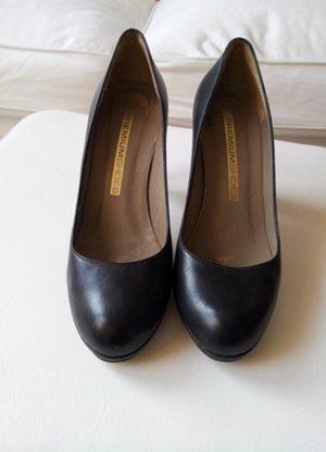 Schwarze Pumps von Premiumshoes mit 9 cm Absatz