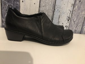 Rieker Chaussure à talons carrés noir