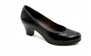 Tamaris Loafer nero Pelle