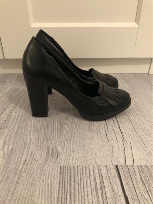 Anna Field Platform Pumps black