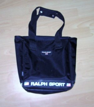 Ralph Lauren Sport Carry Bag black textile fiber