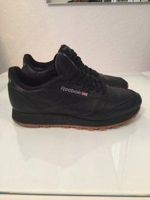 Schwarze Reebok Classic Sneaker Gr. 38,5