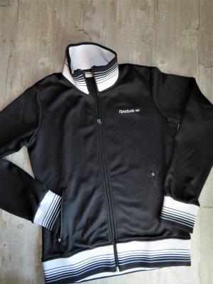 Schwarze Reebok Classic Sweatshirt Jacke