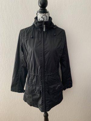 Schwarze (Reit) Regenjacke von Felix Bühler Gr. S