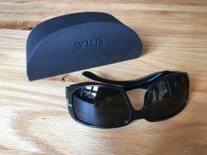 Schwarze Replay Sonnenbrille