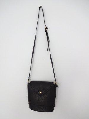 schwarze retro Tasche