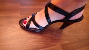 Belmondo High Heel Sandal black leather