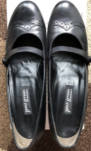 Paul Green Strapped pumps black