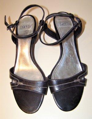 Esprit Strapped Sandals black