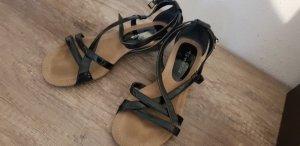 schwarze Riemchensandalen von Tamaris 2 mal getragen Gr 39