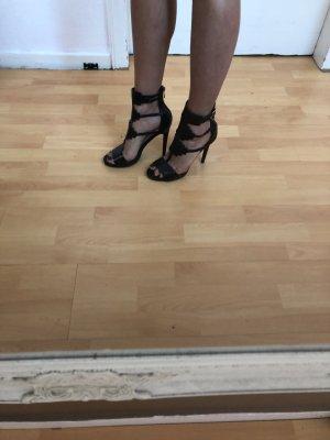 Schwarze Römer High Heels