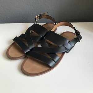 H&M Roman Sandals black-gold-colored