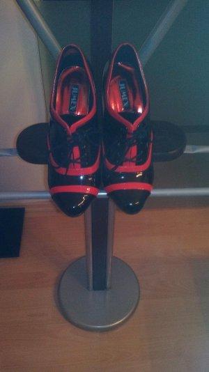 schwarze rote  lackschuhe