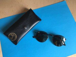 Schwarze runde Sonnenbrille von RayBan