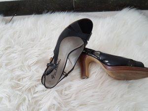 Platform Sandals black