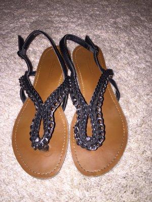 Schwarze sandalen gr.36