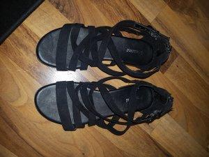 Schwarze Sandalen Gr. 36