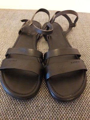 Schwarze Sandalen von Esprit