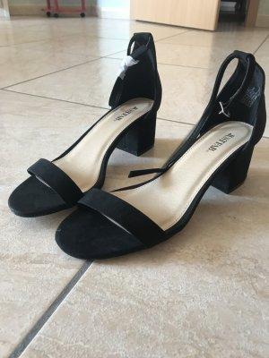 JustFab Sandalo con cinturino nero
