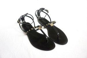 schwarze Sandalen Zara